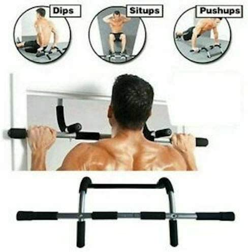 Chin Up Bar Upper Body Workout Bar for Home Gym Exercise Equipment Strength Training Grabacz Doorway Pull Up Bar