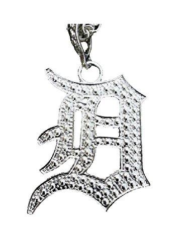 Detroit Letter 'D' Initial Necklace