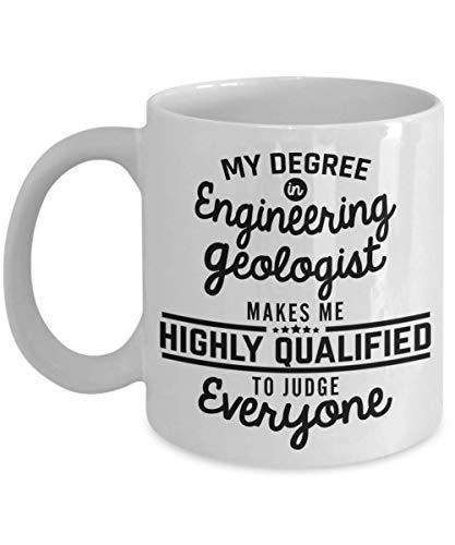 Engineering Geologist Gifts Coffee - Gift Geology Science For Geologists Tea Set - Men Woman Dad Best Friend Coworker Colleague Boyfriend Brother - Bi