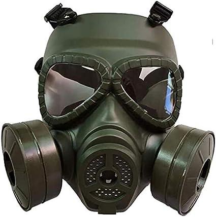 RJJBYY Máscara Protectora de 360 ° de Sellado Completo, ampliamente Utilizado en Pintura de Repuesto, carpintería, protección contra el Polvo