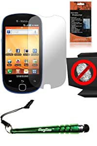 FoxyCase(TM) FREE stylus AND Anti-Glare Screen Protector for Samsung T589 Gravity SMART fabulous LCD Cover