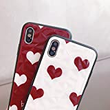 BONTOUJOUR iPhone XR Case, Beautiful Bling Heart