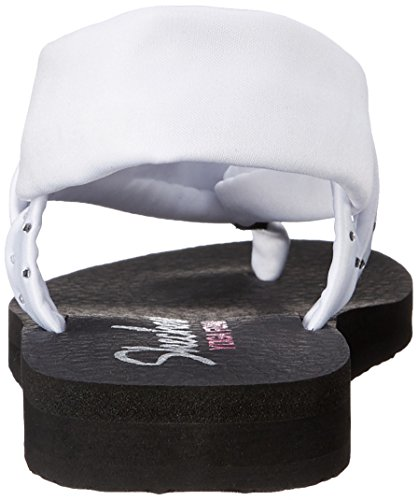 Skechers Cali Vrouwen Meditatie Slingback Yoga Flip-flop Wit