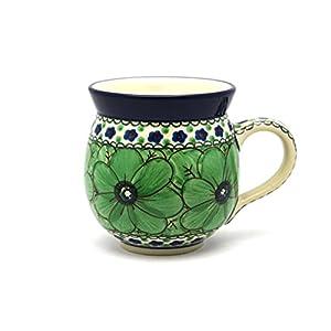 Polish Pottery Mug – 15 oz. Bubble – Unikat Signature U408A