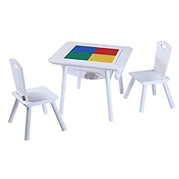 4 In 1 Flip Top Multifunctional Table And Chairs Set