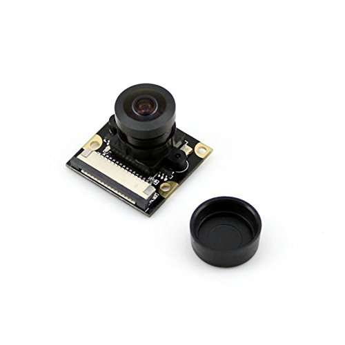 Waveshare Raspberry Pi Camera (H), Fisheye Lens, Supports Night Vision by waveshare