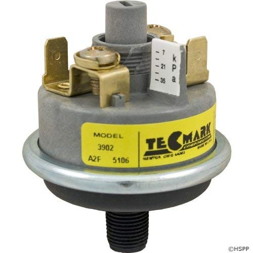 (Pressure Switch 3902, 1A, Tecmark, Universal, SPNO, w/o Brass)