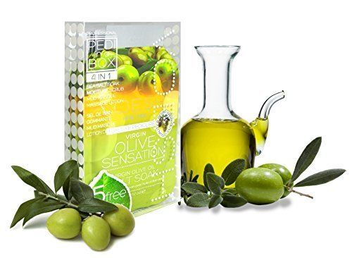 Voesh Pedi In A Box (4 in 1) Virgin Olive Sensation by Voesh by Voesh Pedi