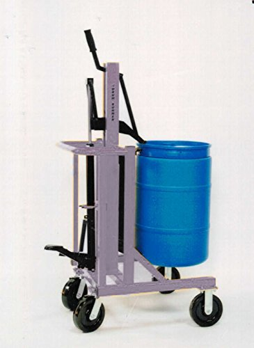Drum Runner Model 4500A, Lifts and Moves Drums and Barrels, 1500lb Lift Capacity by Drum Runner
