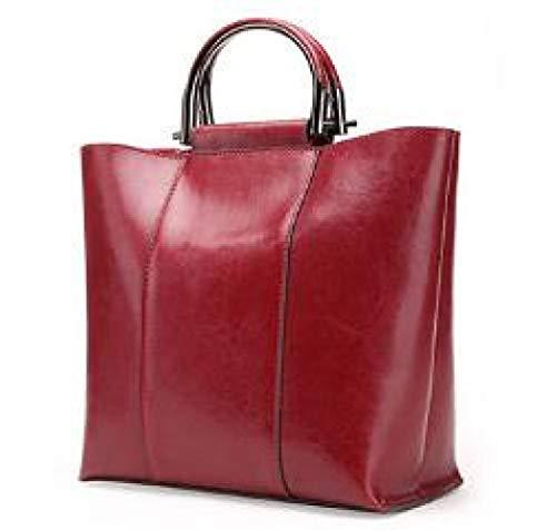 Dames Bandoulière De Main Sac à Shopping Voyage Sac à Red xYO1wtqw