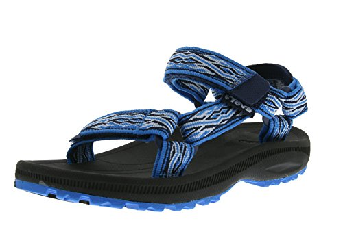 Teva Hurricane 2 Y's Unisex-Kinder Sport- & Outdoor Sandalen, Blau (Mad Waves Blue 889), EU 40