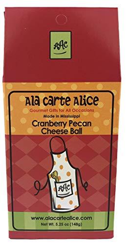 Ala Carte Alice Cranberry Pecan Cheese Ball Mix, 5.25 Ounce ()