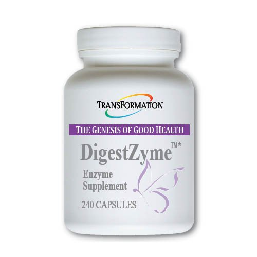 - Transformation Enzymes DigestZyme - Support Digestion During Pregnancy and Lactation and Children's Digestive Issue (240)