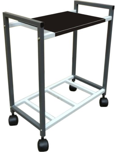 JDTraders Metal Inverter Trolly (Black)