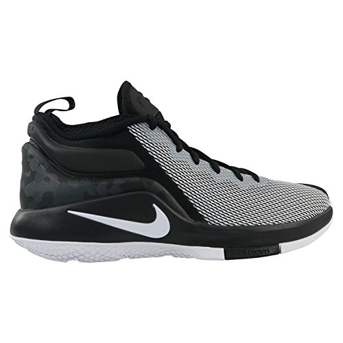 Nike Lebron Witness II, Scarpe da Fitness Uomo Nero (Black/White 011)