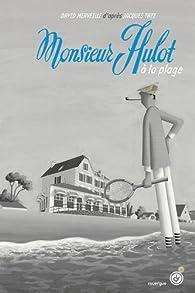 Monsieur Hulot sur la plage par David Merveille