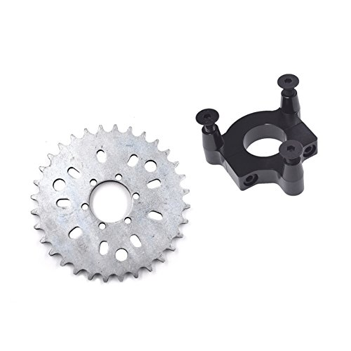 38T Sprocket Adapter Fit 415 Chain 49cc 50cc 66cc 80cc 2 Stroke Motorized Bike