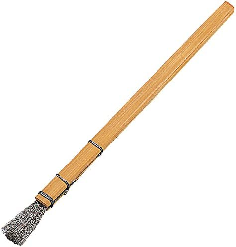 TRUSCO(トラスコ) 筆型ブラシ 竹柄 ステン波 線径0.15mm FB-4