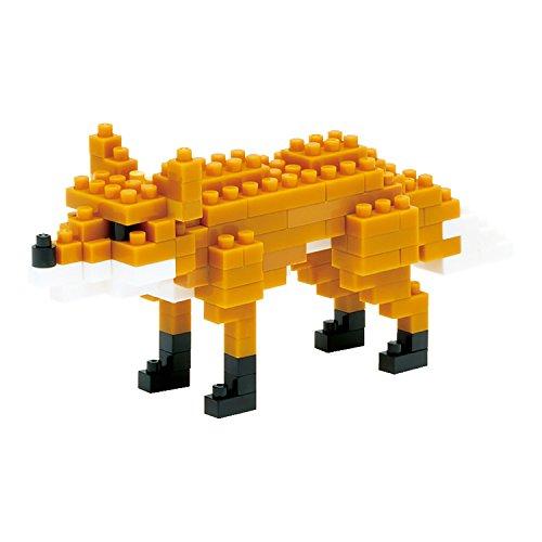 Fox Block (Kawada KAWADA NanoBlock FOX () Building Kit)