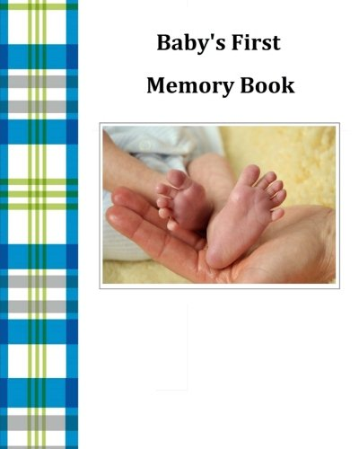 Baby's First Memory Book: Baby's First Memory Book; Baby Boy Plaid pdf