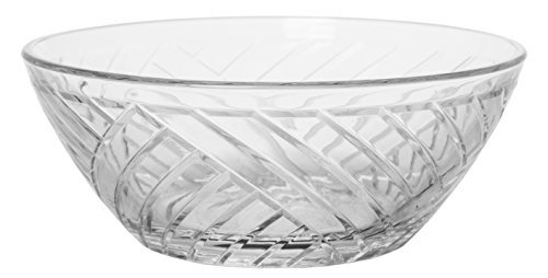 5 Inch Small Bowl - Mini Glass Multipurpose Prep and Serving Bowls, Crystal Clear, Set of 6, 5-inch, 10 oz.