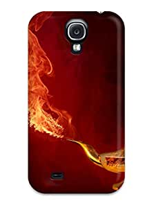 Chris Marions's Shop 2489319K13375666 premium Phone Case For Galaxy S4/ Genie From Fire Tpu Case Cover
