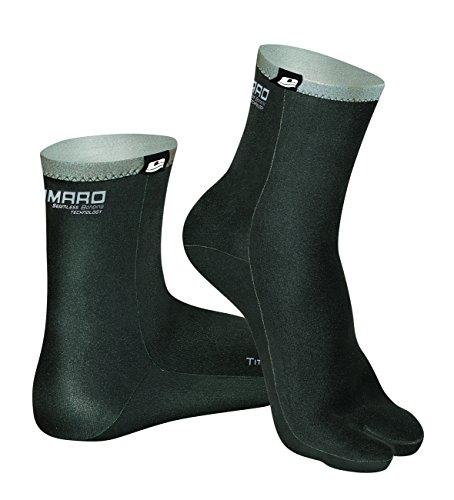 Camaro Neoprensocken Titanium Split Toe Socks, Schwarz, 41/42, 241-99