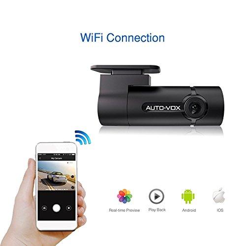 auto vox wifi dash cam d6 mini hd1080p dashboard camera. Black Bedroom Furniture Sets. Home Design Ideas