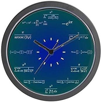 Amazoncom Decodyne Math Clock Unique Wall Clock Each Hour