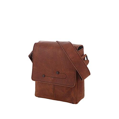 Rada Nature Umhängetasche R2/4719 cognac echt Leder Handtasche