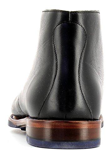 Gordon & Bros Greg 5531 Flex N Rahmengenähter Herren Schnürstiefel, Desert Boot, flexible Goodyear welted Sohle für perfekten Laufkomfort, Pull-up Leder Used Effekt, für Business, Freizeit Black