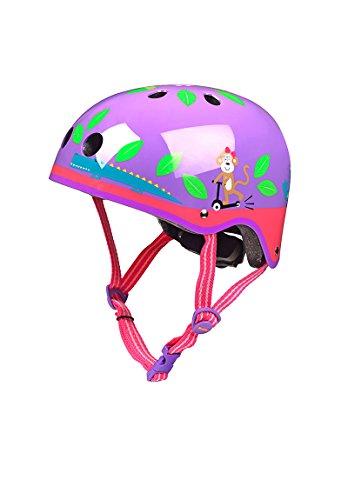 Micro Helmet - Purple Jungle