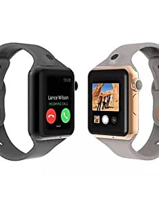 GT09 moda Wearables reloj inteligente, manos libres compañero de llamadas / cámara / bluetooth / cámara remota para android&ios , gray