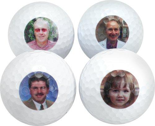 Photo Golf Balls, 6 Dozen Callaway Chrome Soft Balls