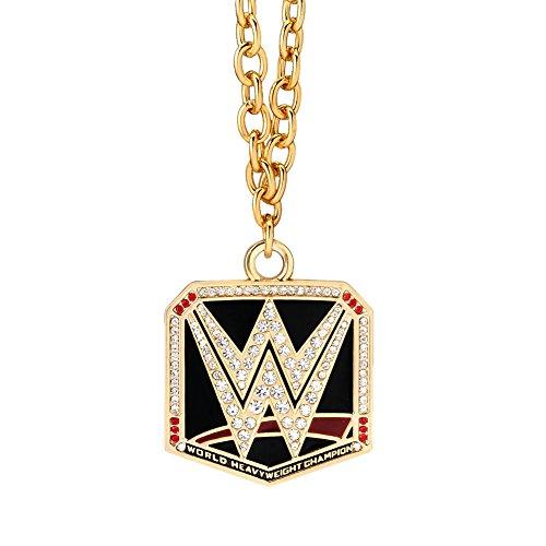 WWE World Heavyweight Championship Pendant Gold (Wwe Pendant)