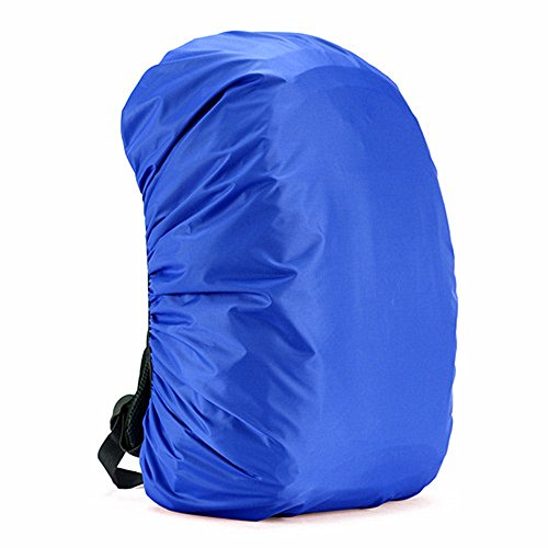 Easyhon 35L-80L Waterproof Backpack Rain Cover Rucksack Water Resist Cover for Hiking Camping Traveling (Blue01,M(for 40-50L Backpack))