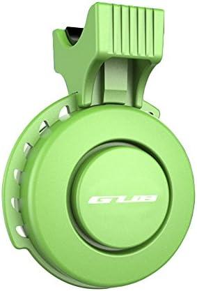 防水 電動 自転車サイクリング用 ミニベル usb充電式 口笛アラームホーン グリーン