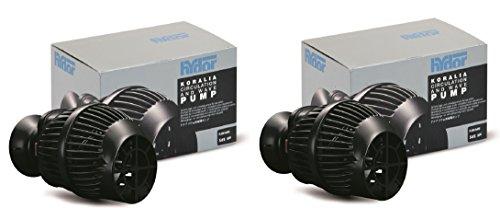 (2 Pack) Hydor Koralia Nano Aquarium Circulation Pumps, 565 GPH