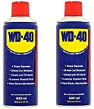 wd 40 Spray for Multipurpose Usage, 400ml (Transparent) - Pack of 2