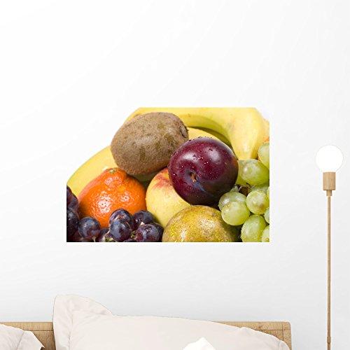 Wallmonkeys Fresh and Ripe Bio Food Wall Decal Peel and Stick Graphic WM205088 (18 in W x 12 in (Bio Basket)