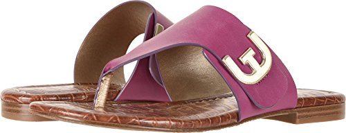 Sam Edelman Women's Barry Mulberry Pink Vaquero Saddle Leather 8.5 W - Collection Leather Mulberry
