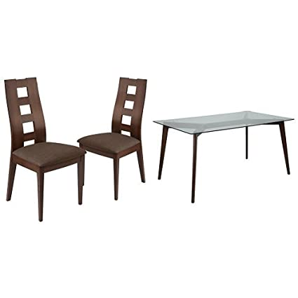Cool Amazon Com Flash Furniture Ross 5 Piece Espresso Wood Gmtry Best Dining Table And Chair Ideas Images Gmtryco