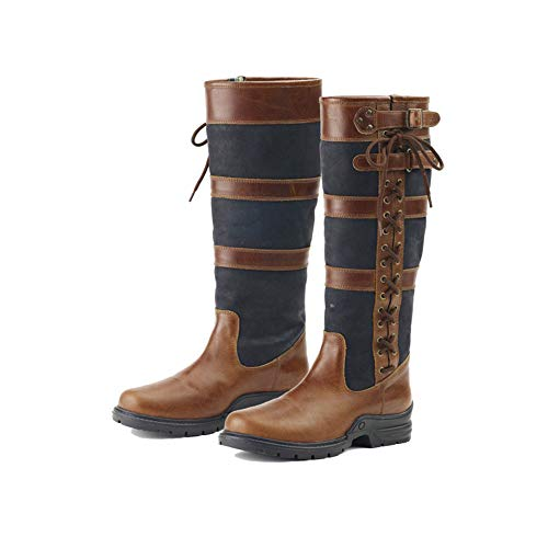 Ovation Alistair Ladies Country Boot Black/Brown, 36 (US 6)