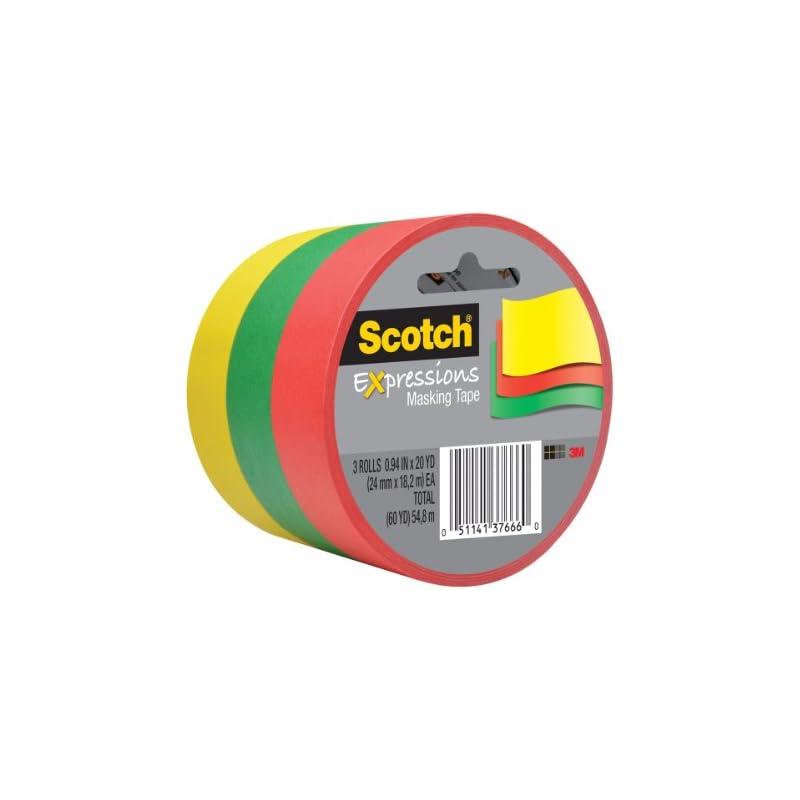 Scotch Expressions Masking Tape, 0.94 x