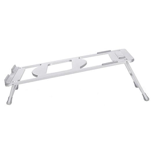 Aleación de aluminio portátil Laptop Stand de refrigeración Base Ordenador portátil de escritorio del refrigerador del