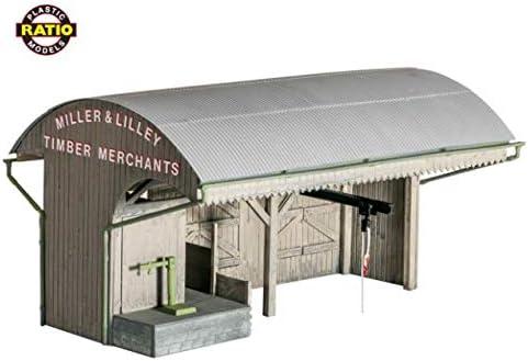 Ratio 525 Trackside Coal/Builders Merchants Kit: Amazon.es: Juguetes y juegos
