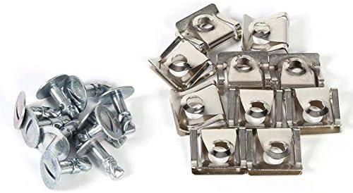 Duurzame schroefklemmen voor de onderbak schroefklemmen voor de motorkap vervang de onderbakset 10x voor Passat B5 Audi A4