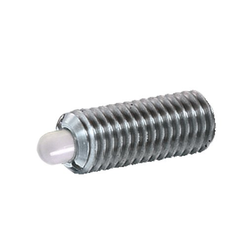 Ball /& Spring Plunger SSWN10-2 Spring Plunger Standard End Force S/&W Manufacturing Co Inc.