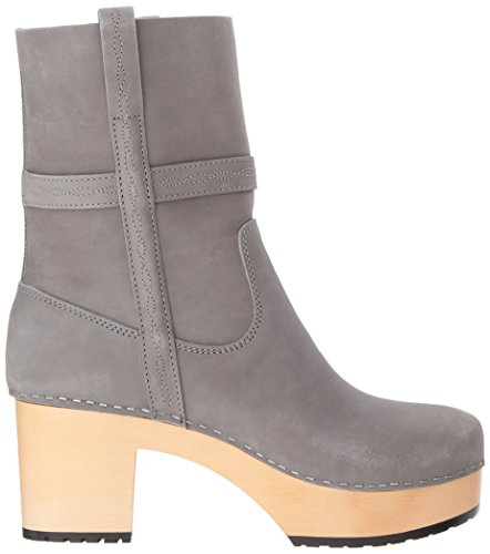 swedish hasbeens Womens Country Boot Grey Nubuck dAv65BDuTF