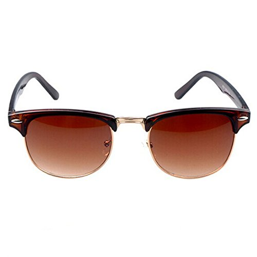 unisex la gafas enormes de diseño sol vendimia Fortan B de F5tqYX